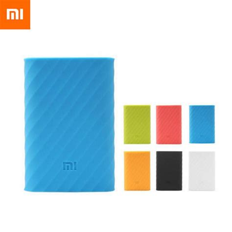 Silicon Cover For Xiaomi Power Bank 16000 Mah White Xobt07wh xiaomi power bank silicone cases covers for 16000 end 5