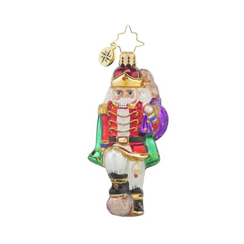 radko 1017708 major cracker gem nutcracker ornament