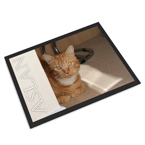 Mat Pet by Personalized Pet Mat Personalized Pet Feeding Mats With