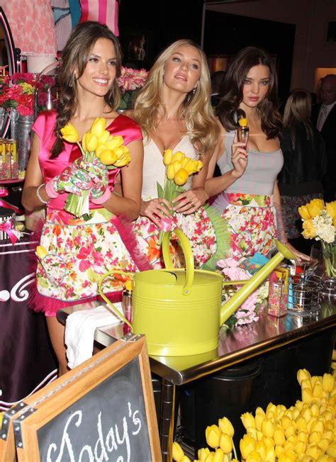 Parfum Victorias Secret Heavenly Flowervictorias candice swanepoel photos photos s secret heavenly flowers fragrance launch