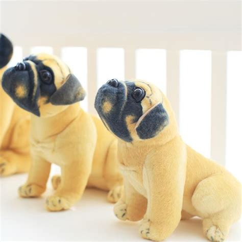 buy a pug puppy aliexpress buy stuffed plush toys pug yellow pug puppy dogs dol baby