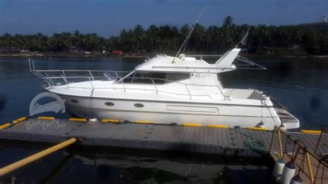 boat cruise in south goa yacht charter hire in goa yacht rental south goa party yacht