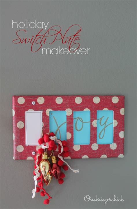 holiday light switch cover onekriegerchick