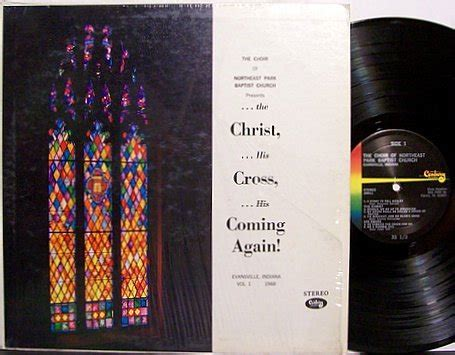 Records Evansville Indiana Choir Of The Northeast Baptist Church Evansville Indiana Vinyl Lp Record Christian