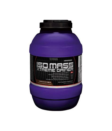Iso Mass Xtreme Gainer 1011lb By Ultimate Nutrition ultimate nutrition iso mass xtreme gainer buy ultimate