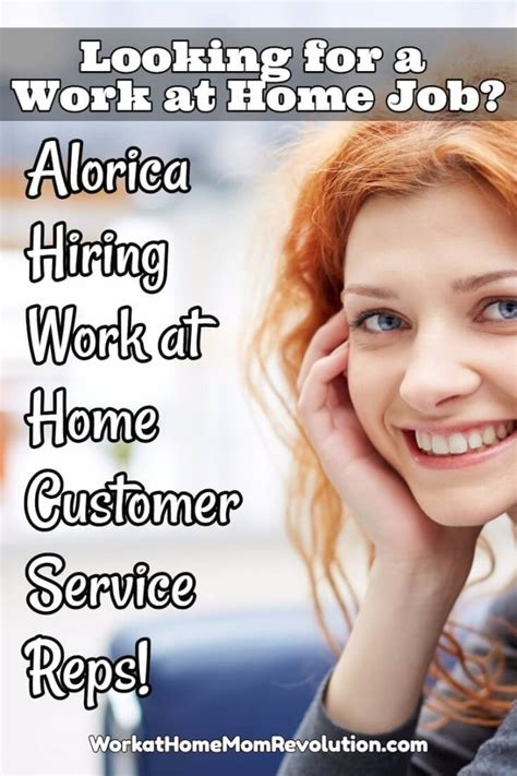 work at home customer service with alorica work at
