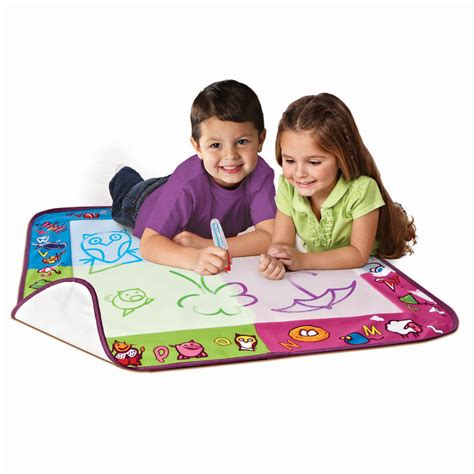 aquadoodle drawing mat aquadoodle mat with metallic color myideasbedroom