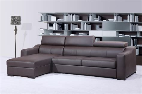 ritz sleeper sectional sofa chocolate brown by j m furniture
