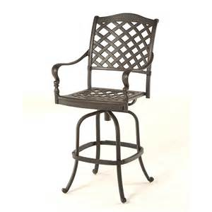 Patio Bar Stools Berkshire Outdoor Bar Stool By Hanamint Family Leisure