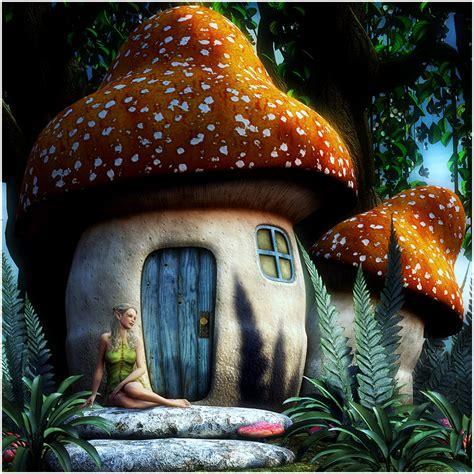 Mushroom Fairy House 3d Models Rpublishing