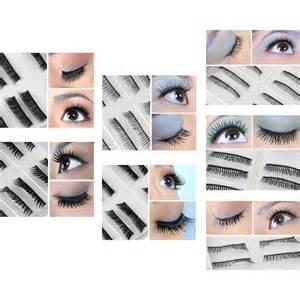 70 pairs fake false eyelashes 7 different styles