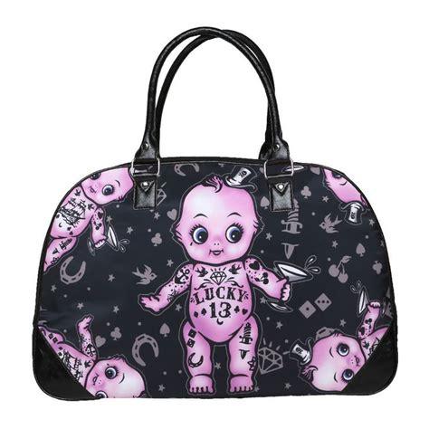 kewpie purse lucky 13 bag travel purse kewpie doll rockabilly