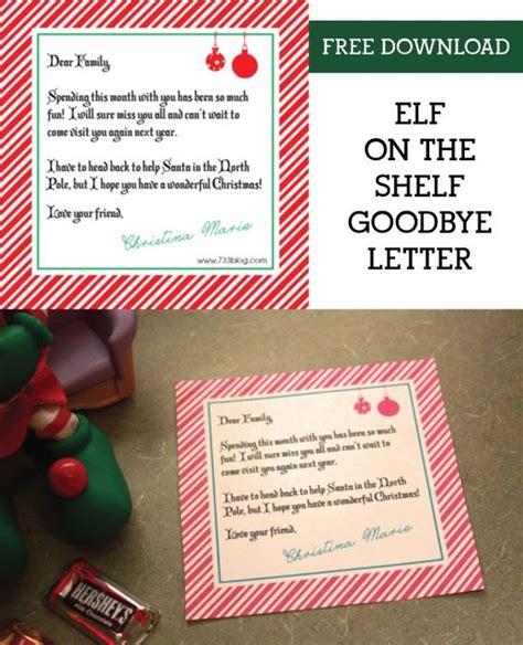 printable elf on the shelf goodbye letter free shelf elf goodbye letter elf on the shelf shelf ideas