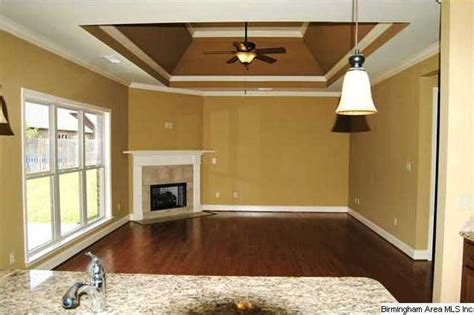 Vaulted Tray Ceiling This Open Plan Has A Vaulted Tray Ceiling And