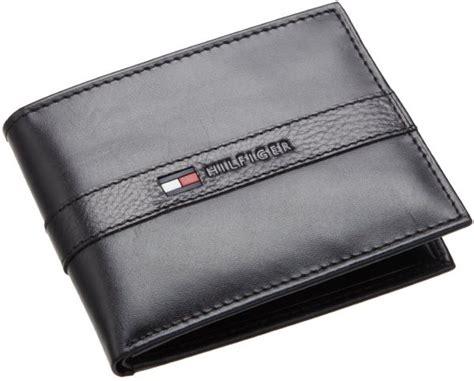 Dompet Hilfiger Buy Hilfiger S Bradford Passcase Wallet Black