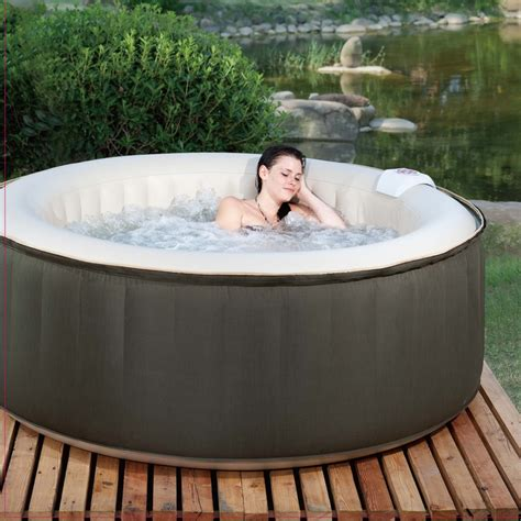 bathtub spa portable theraspa 4 person inflatable portable hot tub spa
