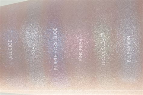 Beverly Moonchild Glow Kit Swatches