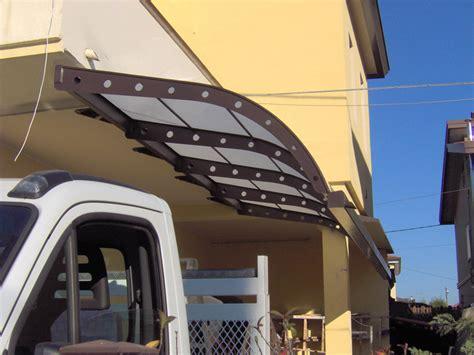 tettoie in ferro e policarbonato realizzazione tettoie e pensiline carpenteria favaretto