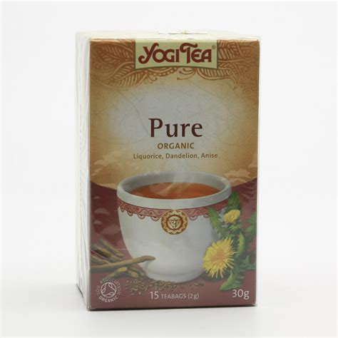 Detox Ks by Golden Temple čaj Yogitea Detox 17 Ks 30 G