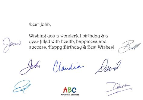 Customer Birthday Letter Fully Automated Birthday Card Service Helps Professionals Show Customer Appreciation For Clients