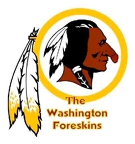 funny redskins logo washington foreskins rtg sunderland message boards