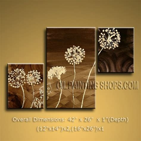 Handmade Wall Decorations - handmade tri panel wall for home decor contemporary