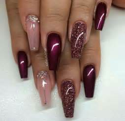 wine colored nails 25 best ideas about wine nails on nail