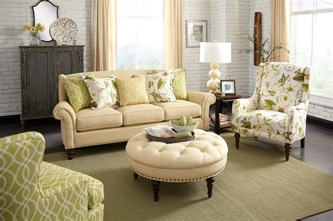 paula deen living room furniture paula deen by craftmaster paula deen upholstered accents p034210 traditional accent chair with