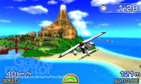 Kaset 3ds Pilotwings Resort pilotwings resort recension gamereactor