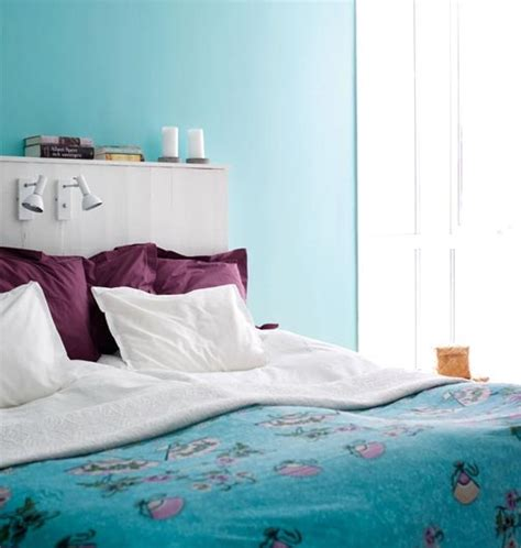 turquoise purple bedroom bedroom in turquoise and aubergine panda s house