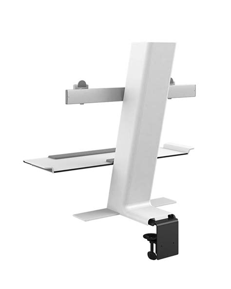 humanscale quickstand dual stand up desk converter