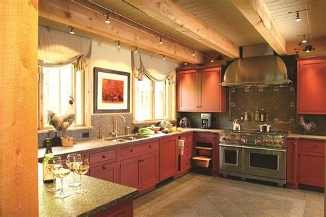 vermont country kitchen vermont country kitchen in post and beam home designs