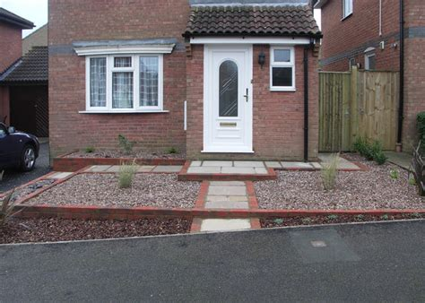 Planning To Build A House Small Front Garden Haywood Landscapes