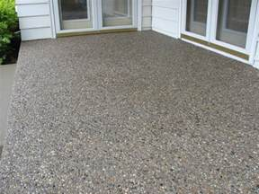 walkers concrete llc exposed aggregate concrete exposed - Aggregate Patio
