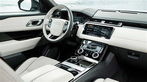 new land rover velar interior new range rover velar first drive the designer s choice