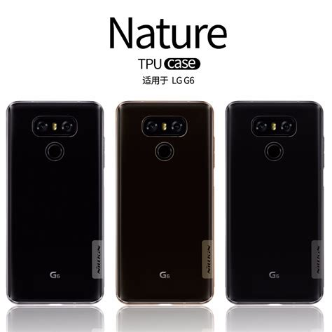 Ultrathin Tpu Lg G5 nillkin ultra thin transparent nature tpu for lg g6 g5 clear tpu soft back cover for lg g6