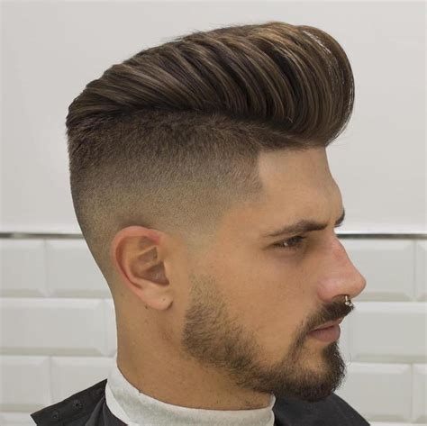 view from back of pompadour hair style men s short hairstyles stylish guide of 2016