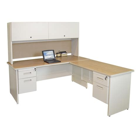 Home Computer Desks With Hutch by Home Office Computer Desks With Shelves And L Shaped