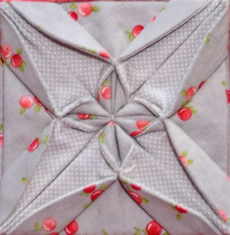 Origami Fabric Folding - 17 best images about fabric folding on
