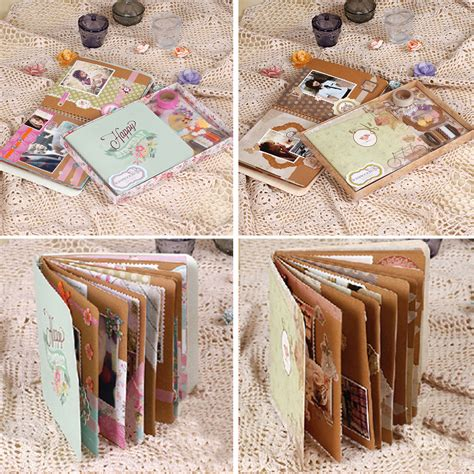 How To Make Photo Album With Paper - creative diy scrapbook album for photos paper scrapbook
