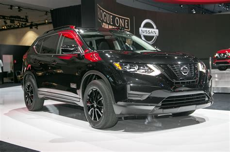 Nissan One Going Rogue Nissan Debuts Wars Edition Rogue Cuv In