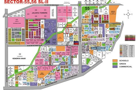 layout plan sector 56 faridabad professors enclave cghs sector 56 golf course road
