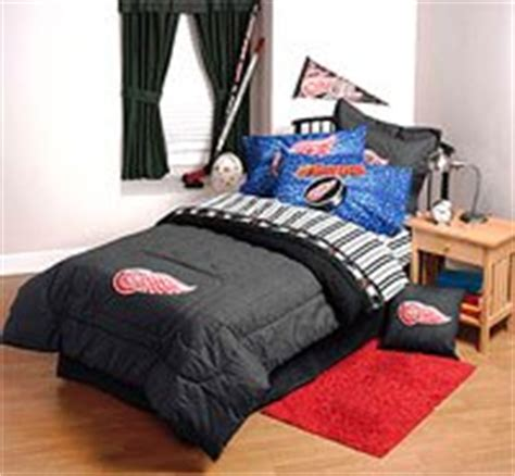 red wings comforter com nhl detroit redwings 4pc bed sheets set