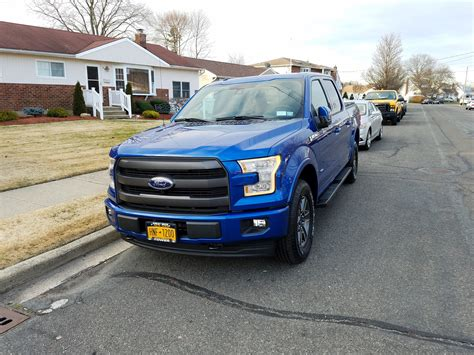 2017 ford f150 lights 2017 lariat 502a sport lighting blue ford f150 forum