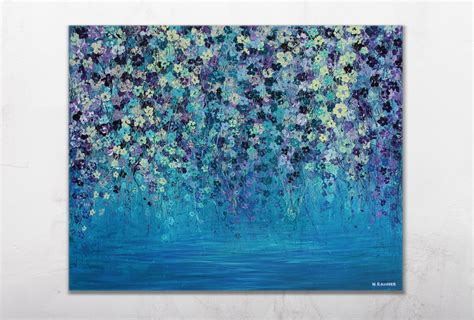 acrylic paint canvas acrylic painting wall canvas original by nikyrahner