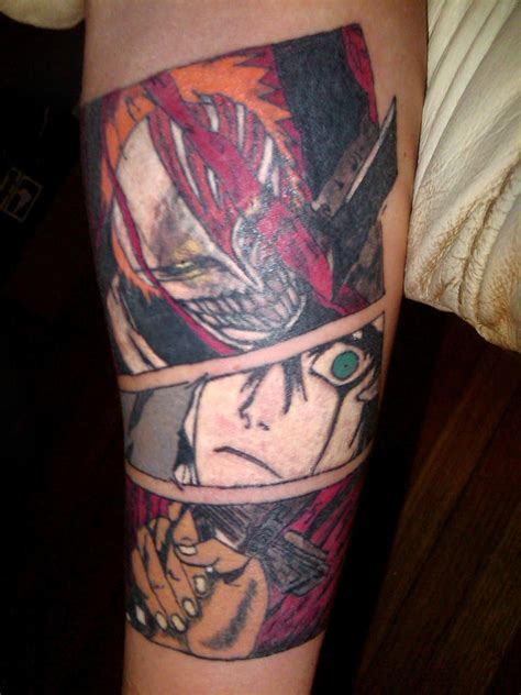 bleach tattoos done by andee 2 by b2nohor71 on deviantart
