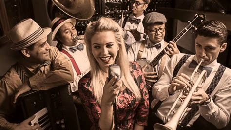 the swing revue dubai jazz and swing band