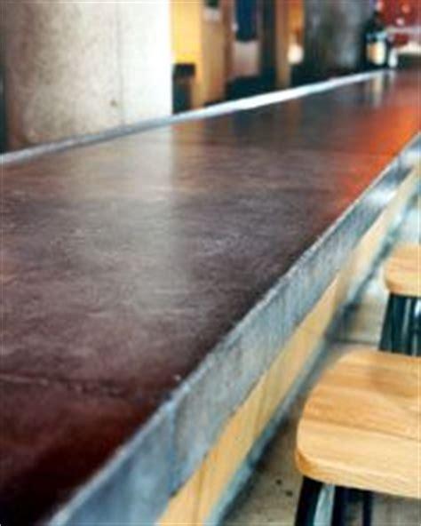 concrete countertops in restaurants and another concrete bar top design restaurant bar
