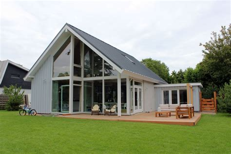 houten huis bouwen prijzen moderne loftwoning 3760 schuurwoning bouwen