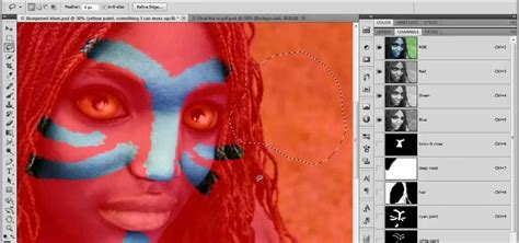 tutorial photoshop cs5 digital painting how to paint on top of a photograph in adobe photoshop cs5